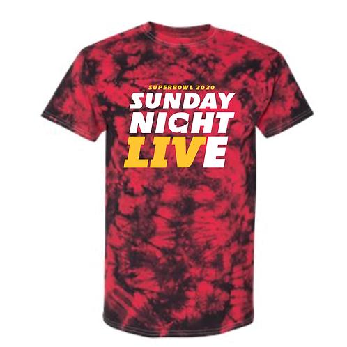 Superbowl SNL Tie Dye Tee