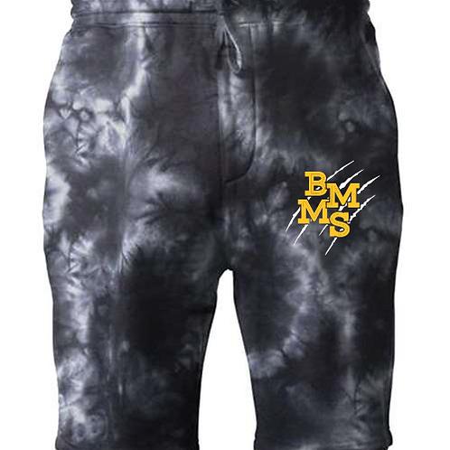 BMMS Slash Independent Tie Dye Fleece Short