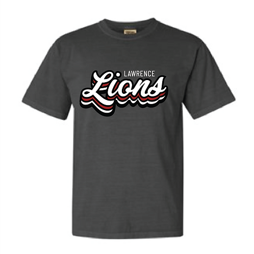 Stacked Lions Comfort Color Short Sleeve Tee