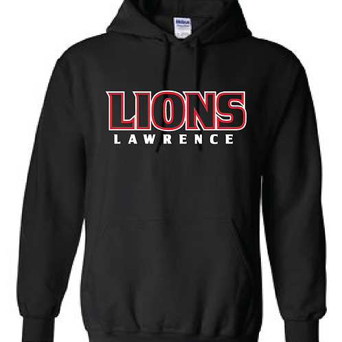 Lions Outline Hoodie