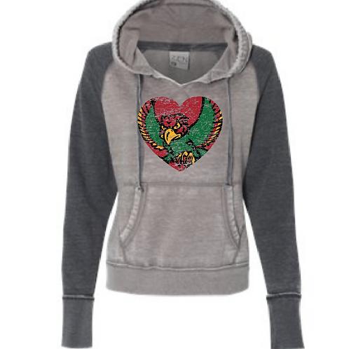 Firebird Heart Zen Women's Hoodie