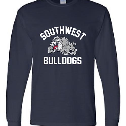 SWMS Bulldogs Long Sleeve Tee