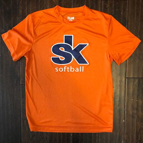 Sidekicks Team 365 Orange Drifit Tee
