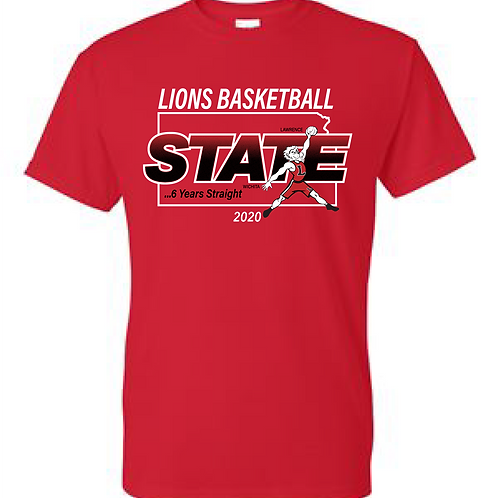 LHS State Basketball Basic Tee