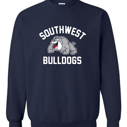 SWMS Bulldogs Crewneck Sweatshirt