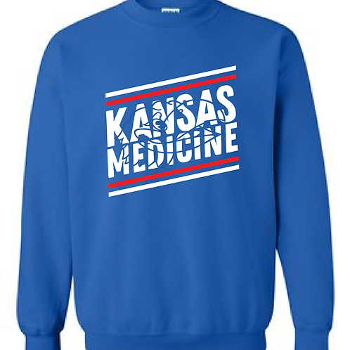 KU Pre-Med Club Basic Crewneck Sweatshirt