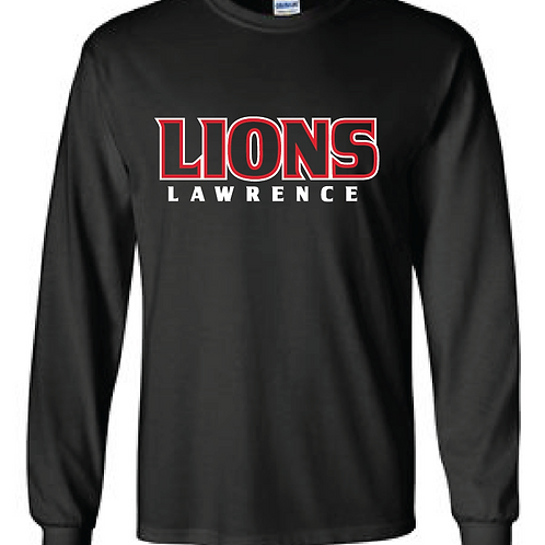 Lions Outline Long Sleeve Tee