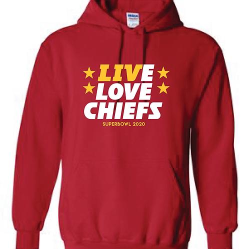Superbowl Live Love Hoodie