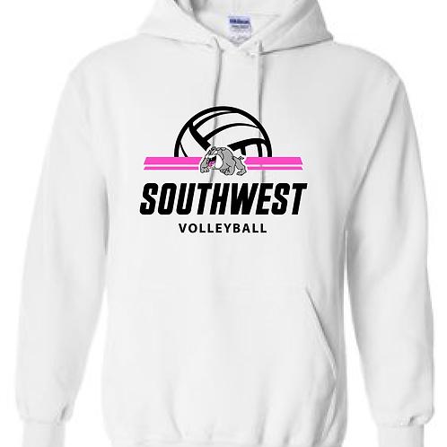 SWMS Volleyball Hooded Sweatshirt