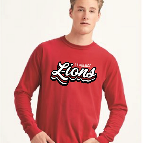 Stacked Lions Long Sleeve Tee