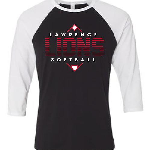 LHS Softball Raglan Tee