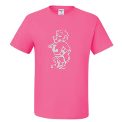 Outline Chesty Pink Tee