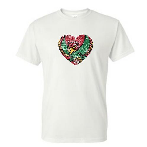 Firebird Heart Gildan Tee