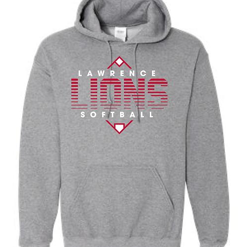 LHS Softball Hooded Sweatshirt