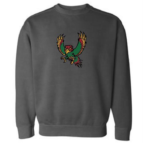 Freddie Firebird Comfort Color Crewneck Sweatshirt