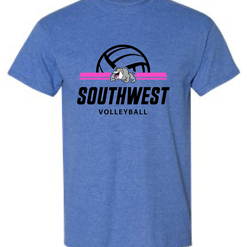 SWMS Volleyball Basic Tee