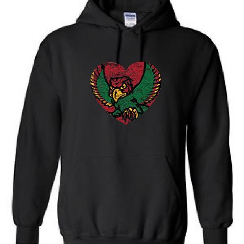 Firebird Heart Hoodie