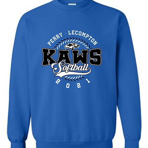 PLHS Softball Crewneck Sweatshirt