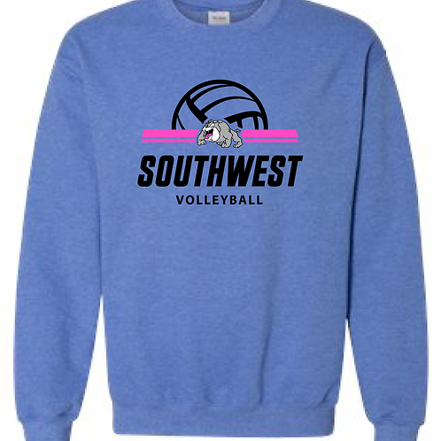 SWMS Volleyball Crewneck Sweatshirt