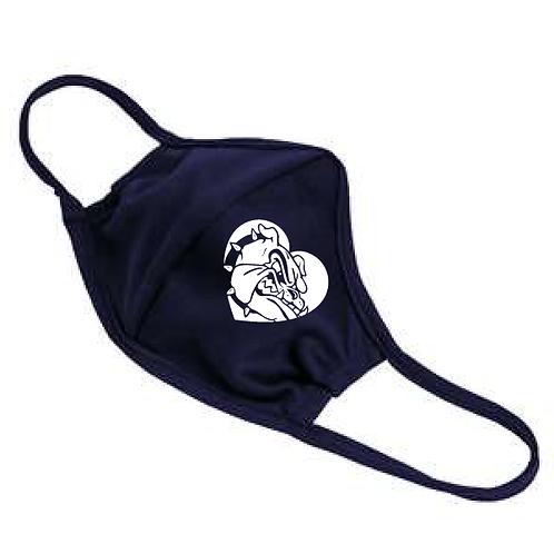 Bulldog Heart Mask