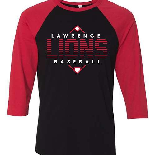 LHS Baseball Raglan Tee