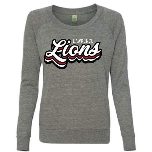 Stacked Lions Slouchy Tee