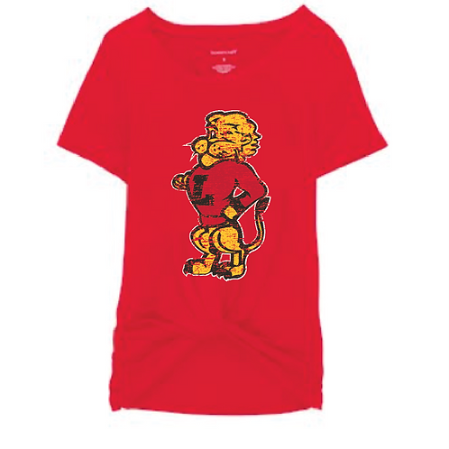 Chesty Front Tie Tee