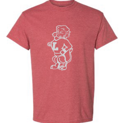 Outline Chesty Heather Red Tee