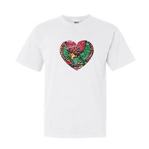 Firebird Heart Comfort Color Tee