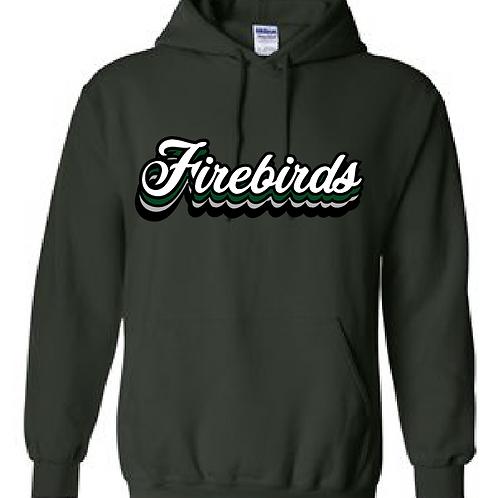 Cursive Firebirds Hoodie
