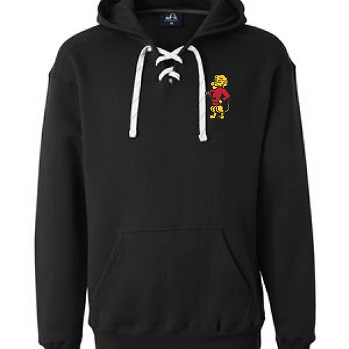 LHS Chesty Embroidery Lace Hoodie