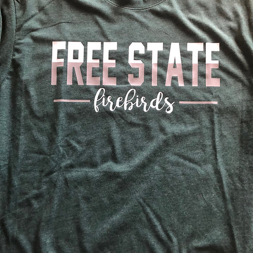 Free State Split Color Long Sleeve