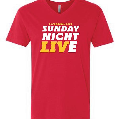 Superbowl SNL Unisex V-Neck Tee