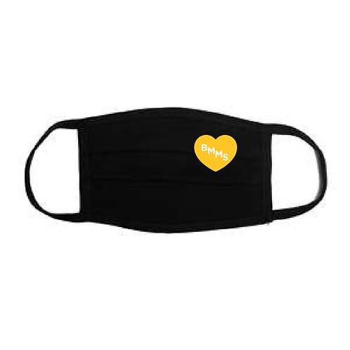 BMMS Gold Heart Mask