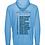 Thumbnail: Sidekicks Championship Sunproof Hooded Long Sleeve Tee - Cali Blue