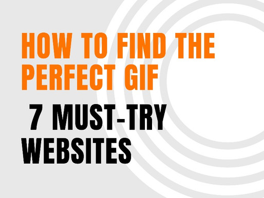 How to Find the Perfect GIF: 7 Must-Try Websites