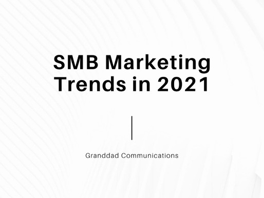 SMB Marketing Trends in 2021
