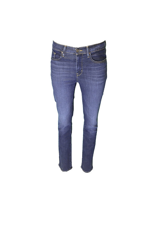 Levis - 724 High Rise Straight blue