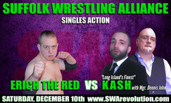 Erich The Red vs. Kash