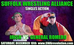 Iri$h  vs.  General Romero