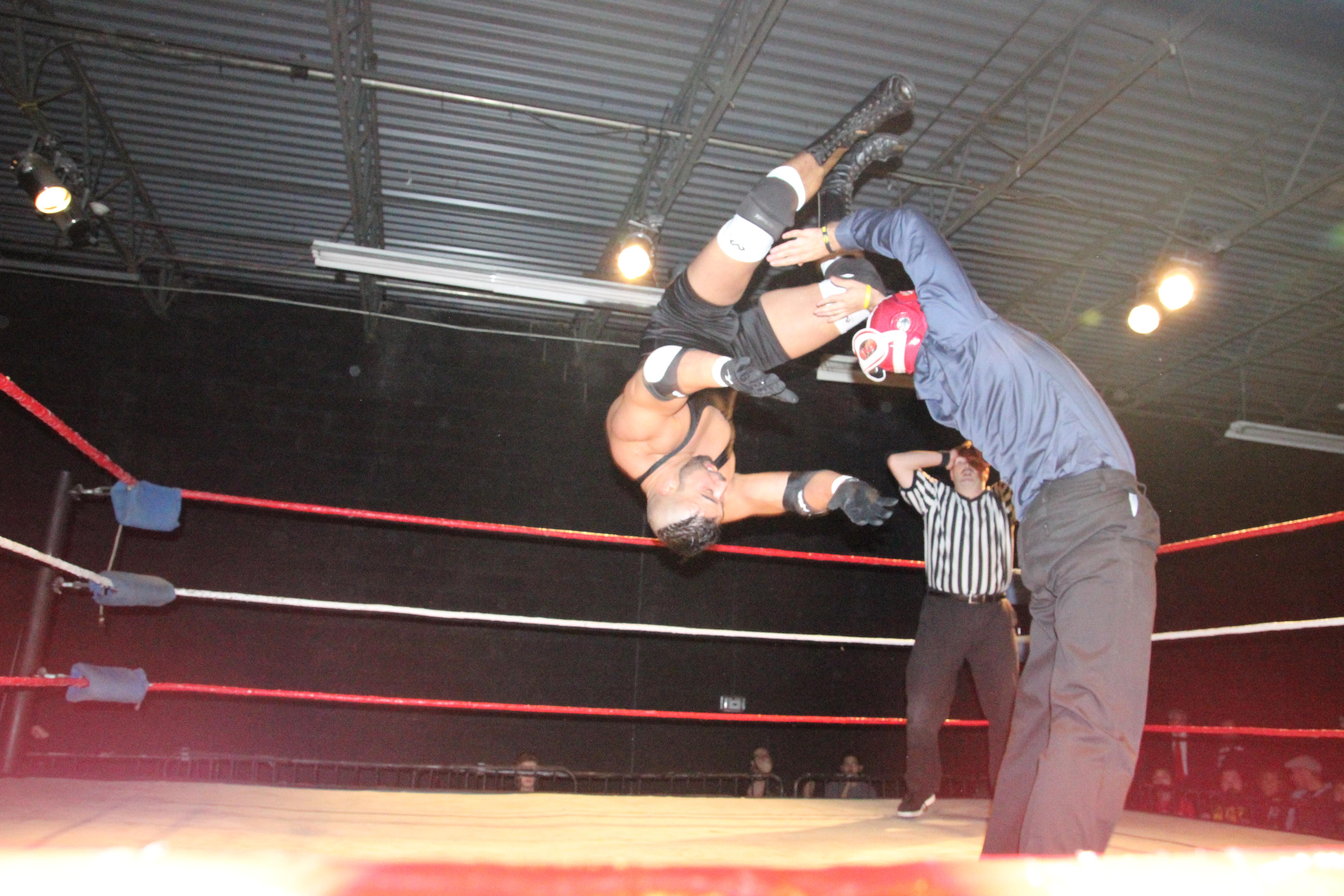 Pride Title Match! Nova vs. Magnum