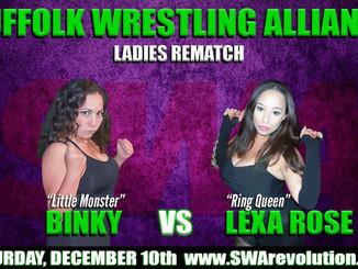 Women's Wrestling REMATCH