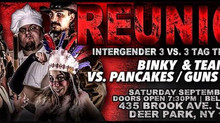 INTERGENDER 3 VS. 3 TAG TEAM MATCH