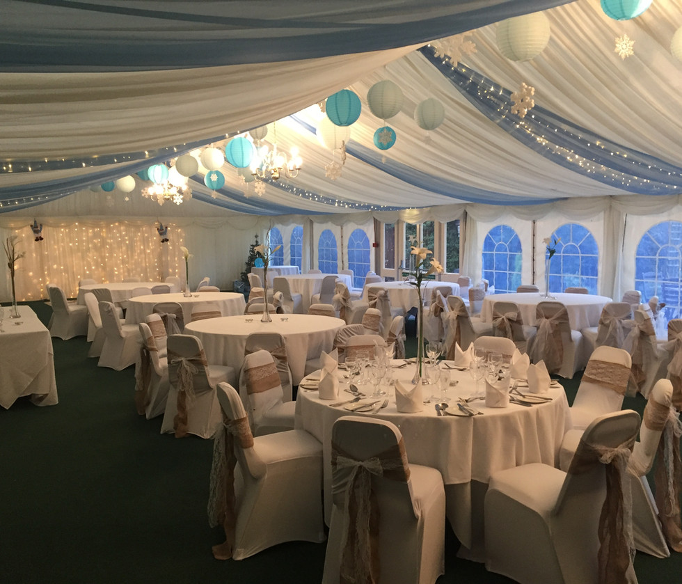 Marquee - Hessian