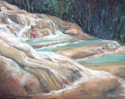Up Falling Water