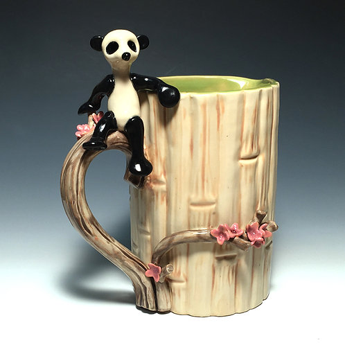 Bamboo Panda Pitcher