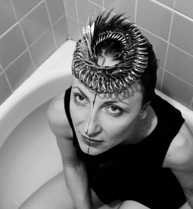 Wearable Weapons - photo and crown by Carrie Mae
