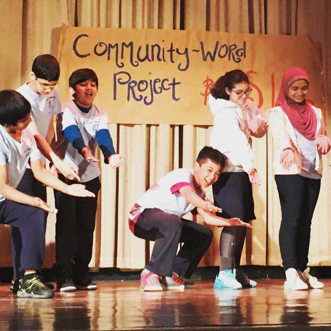 CWP arts integrated teaching artist residency