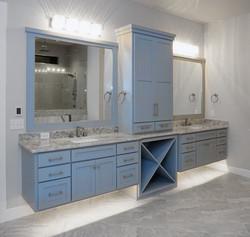 grey vanity