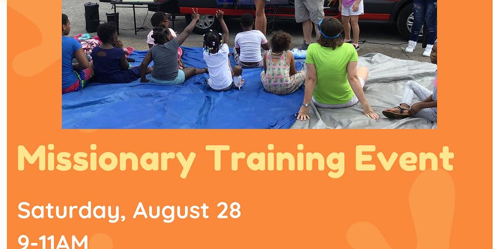 Fall Training Sidewalk Funday School
